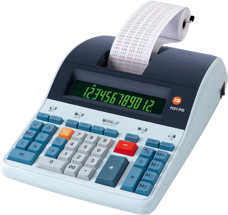 TA Triumph-Adler B9973000 1121 PDL - Calculadora de mesa de 12 ...
