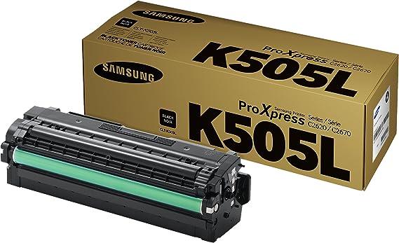 40g//Bottle,No Chips,4 Black Refill Color Laser Toner Powder Kits for Samsung CLT-K505L CLTK505L CLT-505L CLT K505L 5005L CLT505L Laser Printer Toner Powder