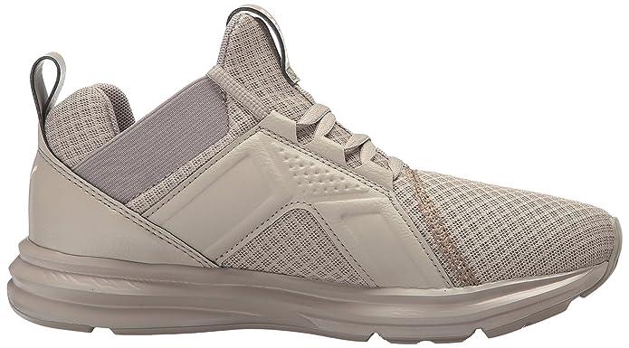PUMA Women's Enzo Premium Mesh Wn Sneaker, Rock Ridge