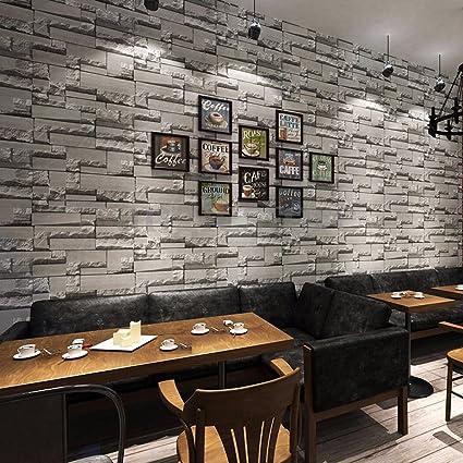Amazon Com 3d 10m Wallpaper Bedroom Mural Roll Modern Stone