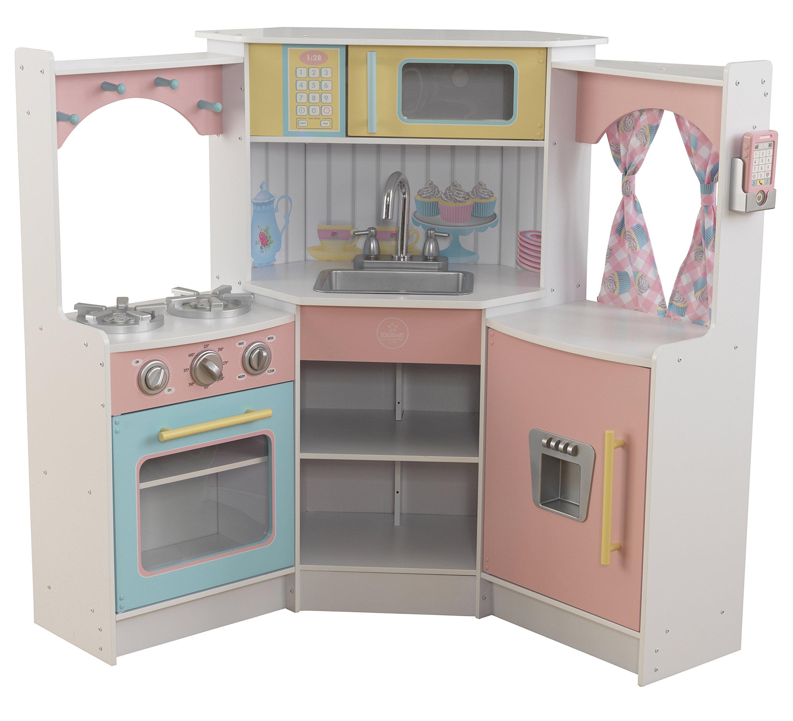 KidKraft Kids Kitchen Playset White Children As If Game New Year Gift