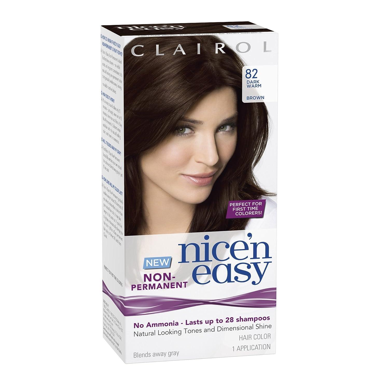 Amazon Clairol Nice N Easy Non Permanent Hair Color 82 Dark