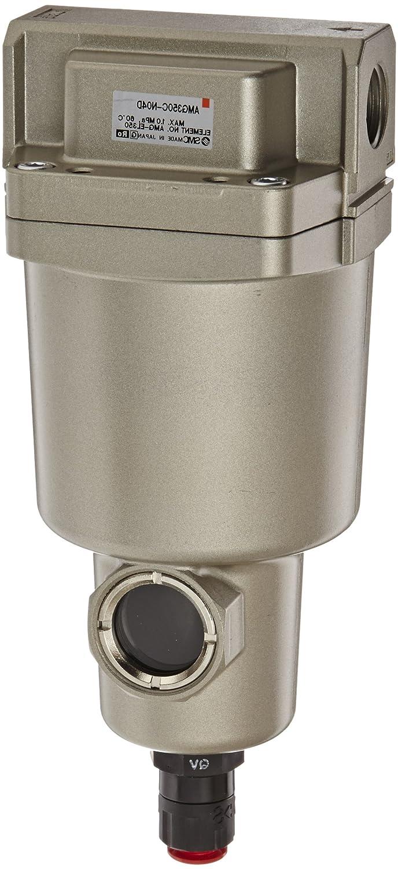 SMC AMG350C-N04D Water Separator, N.O. Auto Drain, 1,500 L/min, 1/2 NPT by SMC Corporation  B009VQ0HSE