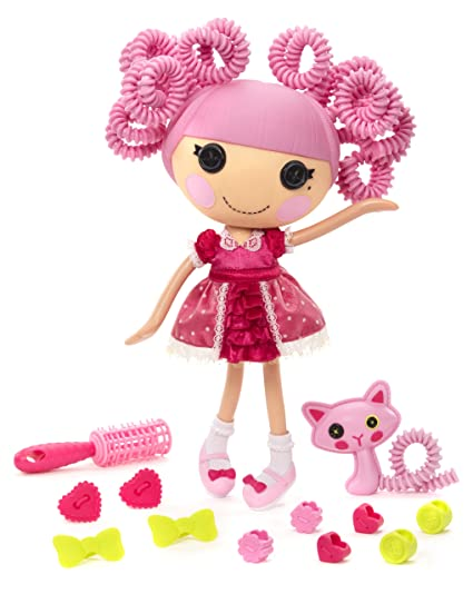 amazon com lalaloopsy silly hair doll jewel sparkles toys games
