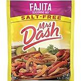 Dash Salt-Free Seasoning Mix, Fajita, 1.25 Ounce (Pack of 12)