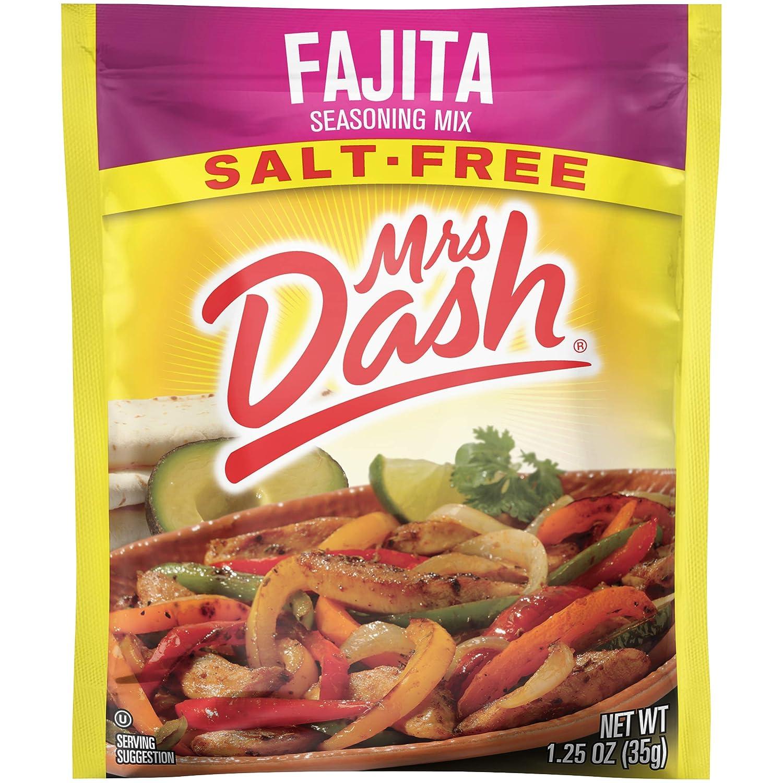 Mrs. Dash, Seasoning Mix, Fajita, 1.25 Ounce