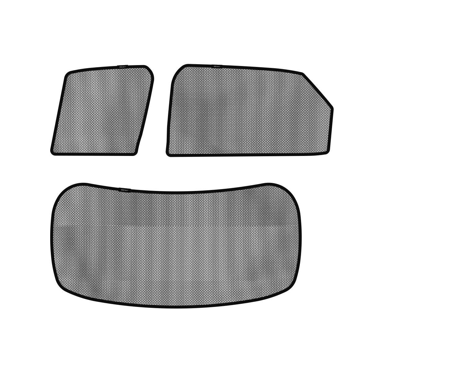 3D MAXpider S1LX0550 Soltect Complete Set Custom Fit Sun Shade (for Select Lexus RX350 Models)