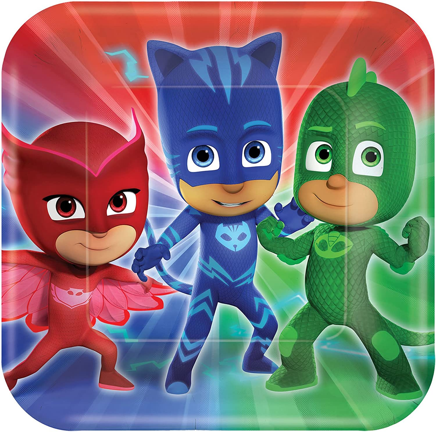 Party Pack for 24 Guests BirthdayExpress PJ Masks Party Supplies