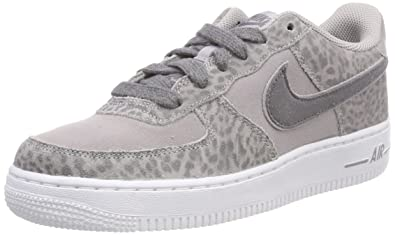 cheaper 47c3b 0044c Nike Air Force 1 Lv8 Gg, Chaussures de Gymnastique Fille Gris (Atmosphere  Grey