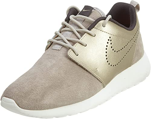 Nike Damen W Roshe One PRM Suede Turnschuhe, Gris (Strng