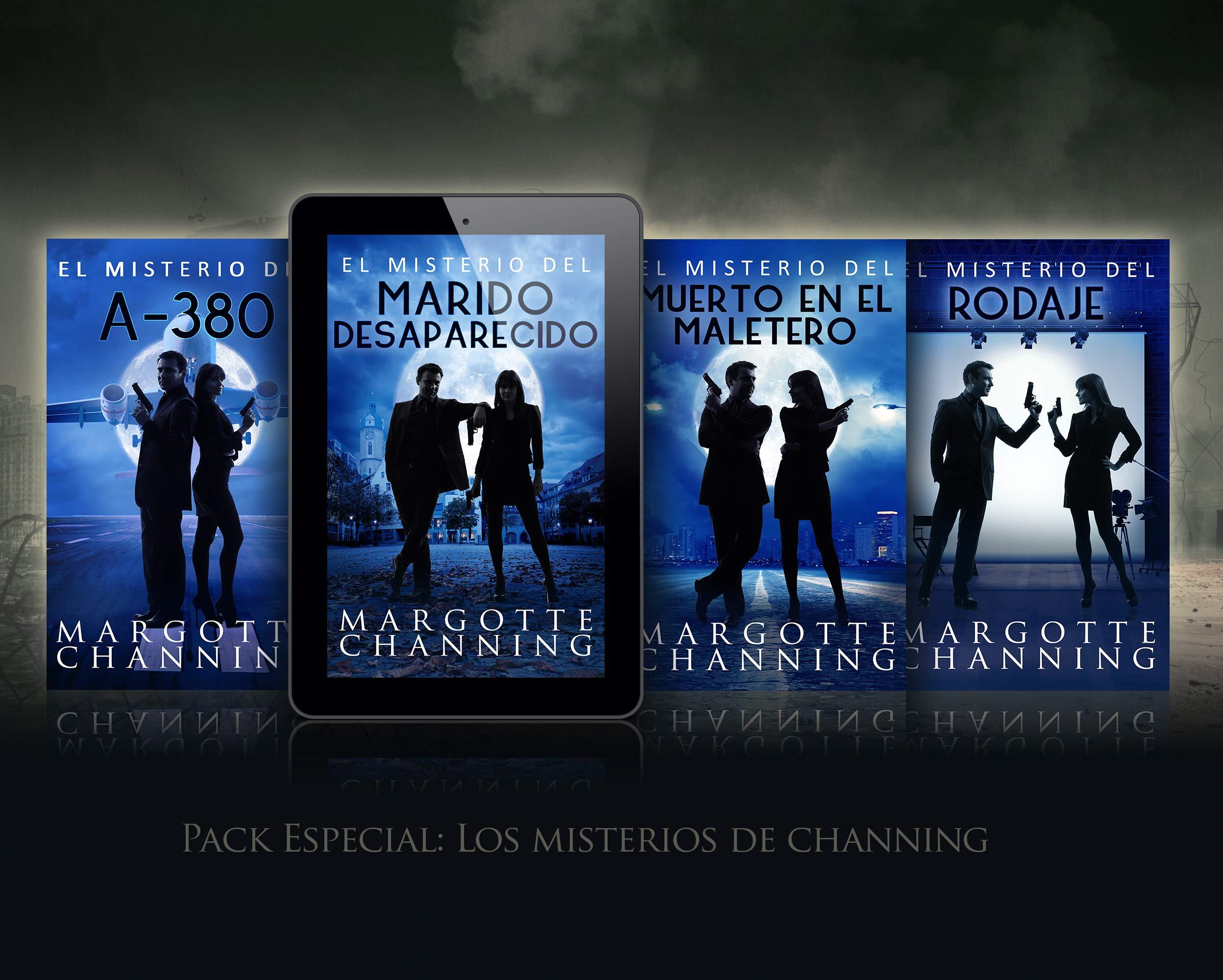 LOS MISTERIOS DE CHANNING: EL MISTERIO DEL MARIDO DESAPARECIDO, MALETERO, A380 Y RODAJE en un pack especial