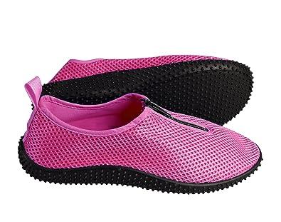cfc61cb01eb5 Peach Couture Women s Athletic Durable Quick Dry Aqua Socks Beach Water  Shoes