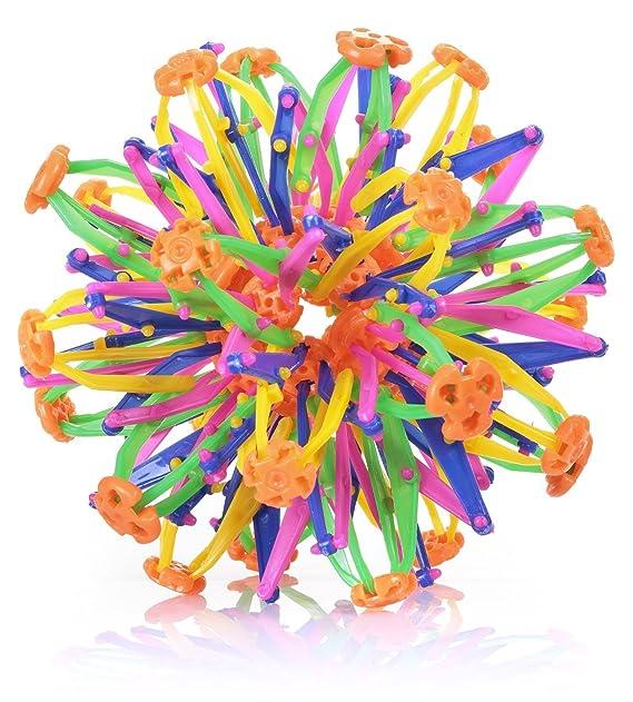 TOYLAND Bola mágica expandible de plástico Multicolor: Amazon.es ...