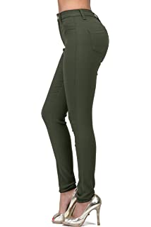 d31f4fc22 SOHO GLAM Super High Waisted Stretchy Skinny Jeans in 10 Colors (S ...