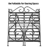 Spice Rack, iSPECLE 2-Tier Foldable Shelf Rack