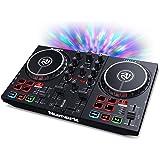 Numark Party Mix II - DJ Controller / DJ Set for Beginners with Built-In DJ Lights & DJ Mixer for Serato DJ Lite and Algoridd