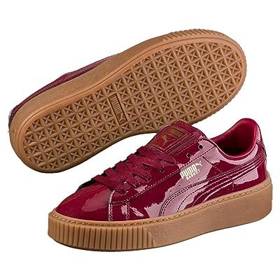 Puma Basket Platform Patent, Sneakers Basses Femme
