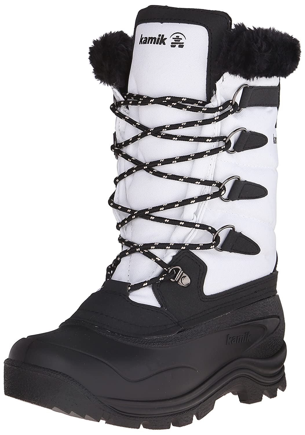 Kamik Women's Shellback Insulated Winter Boot B00RW5LH8U 10 B(M) US|White