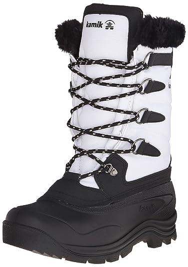 Kamik Women's Shellback Insulated Winter Boot, White, ...