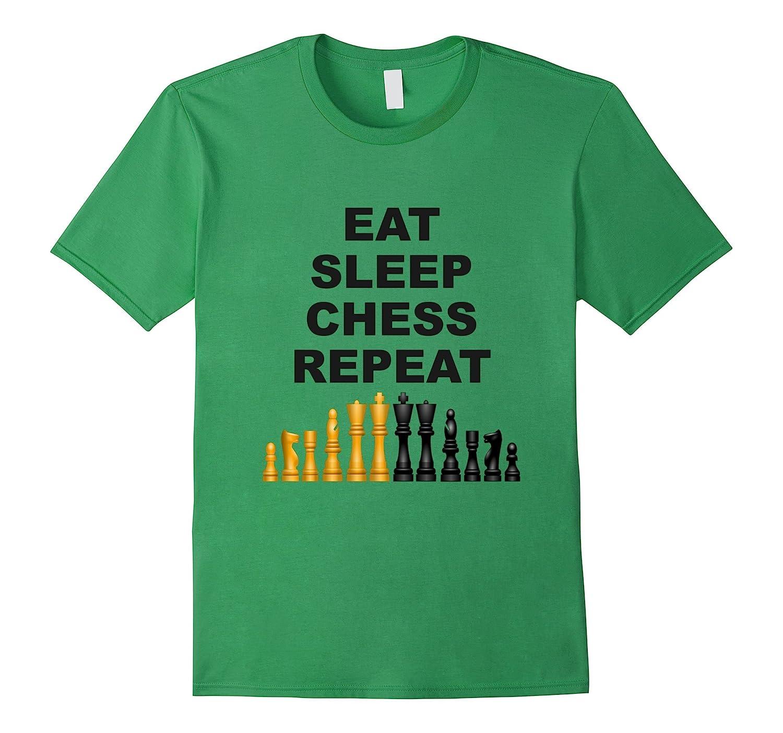 Chess Shirt | Funny Chess Shirt | Eat Sleep Chess Repeat Tee-FL