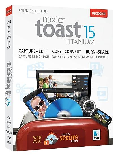 roxio toast  : Roxio Toast 15 Titanium Mac (Old Version): Software