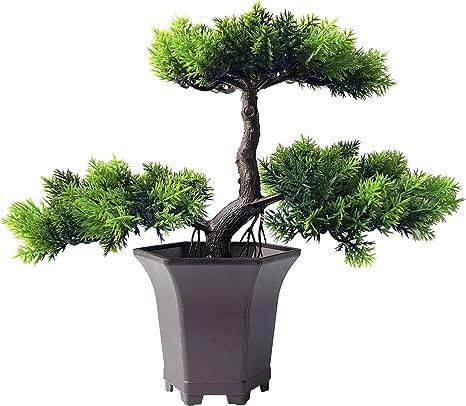 Amazon Com Yoerm Artificial Plants Fake Bonsai Tree Home Decor Clearance B Style Home Kitchen