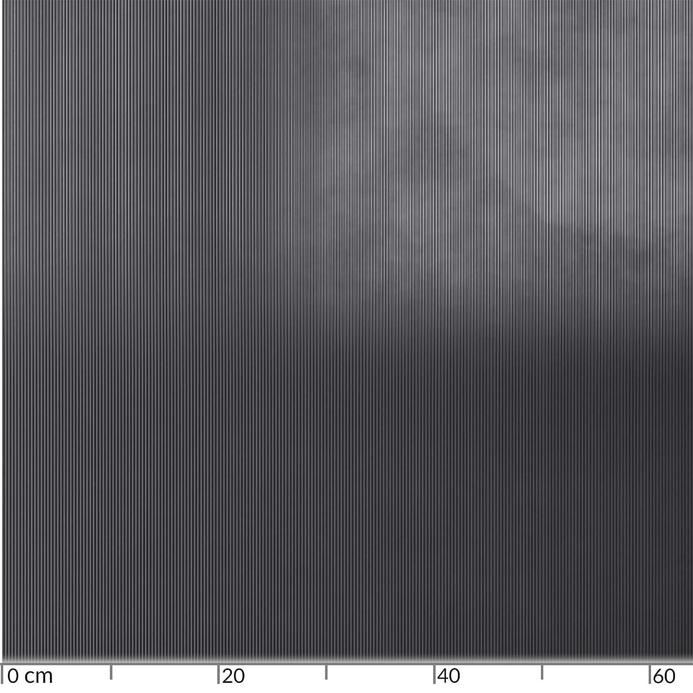 ANRO Gummimatte Schutzmatte Noppenmatte Bodenmatte Riffelblechoptik Gummil/äufer 100cm Breit 3mm stark Schwarz 220 x 100cm