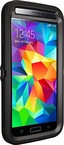 various colors b472e cdb21 Otterbox DEFENDER SERIES for Samsung Galaxy S5 - Frustration Free Packaging  - Black