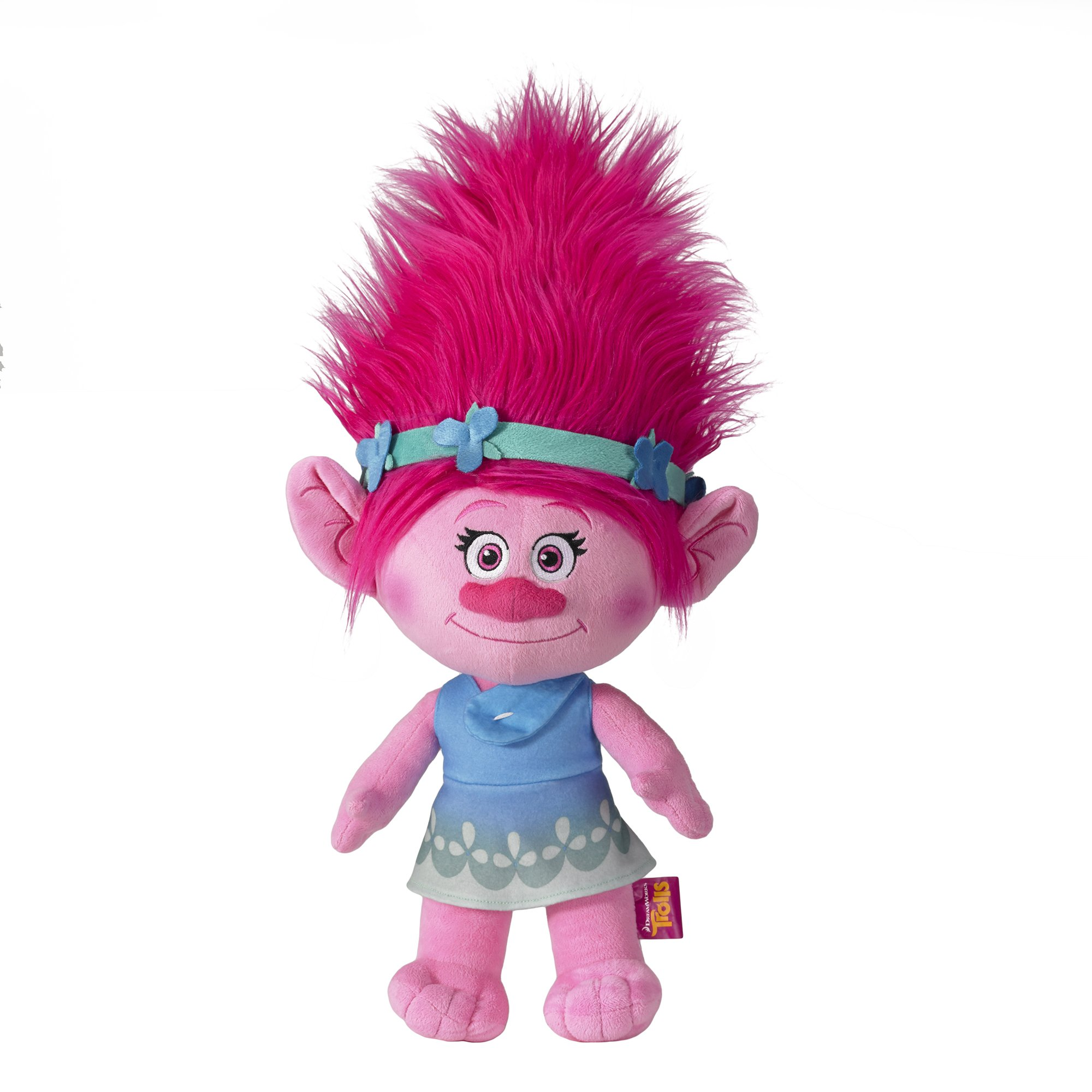 Dreamworks Troll Poppy Cuddle 22'' Pillow Pal by Dreamworks
