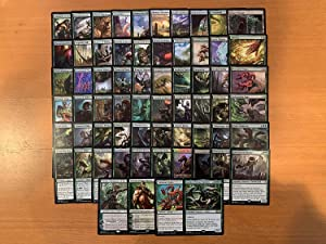 Hydra Commander Deck - Mono Green - EDH - 100 Card - Custom Magic The Gathering Deck - Very Strong!