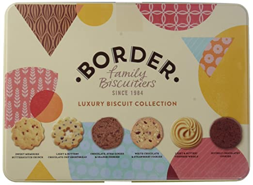 Border Biscuits, Surtido de Galletas Luxury Biscuit Collection Tin ...