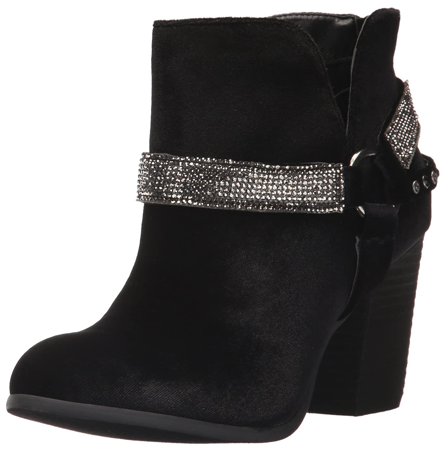 Not Rated Women's Norman Ankle Boot B06Y4HB6M8 8.5 B(M) US|Black