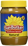 Sunbutter B41295 Sunbutter Natural Sunflower Seed Spread - 16oz