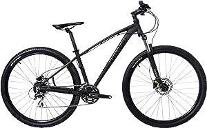 Tommaso Gran Sasso 29er Mounain Bike Hydraulic Disc Hardtail Best Looking MTB Matte Black 100mm Travel Suspension