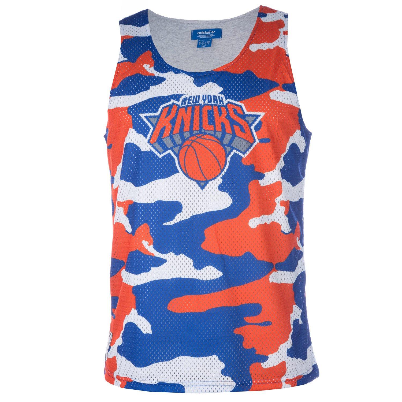 adidas Originals NBA Tank Top Camiseta Gris XS: Amazon.es ...