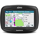 Garmin ZUMO 395LM 4.3 inch Motorbike Satellite Navigation with UK, Ireland and Full Europe Maps, Free Lifetime Map Updates, Bluetooth and Car Mount Included