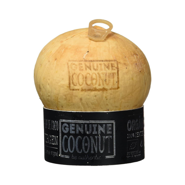 Genuine Coconut Agua de Coco Virgen - 1 Unidad: Amazon.es ...