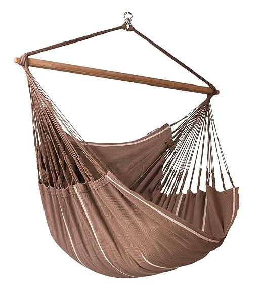la siesta habana chocolate   organic cotton lounger hammock chair amazon    la siesta habana chocolate   organic cotton lounger      rh   amazon