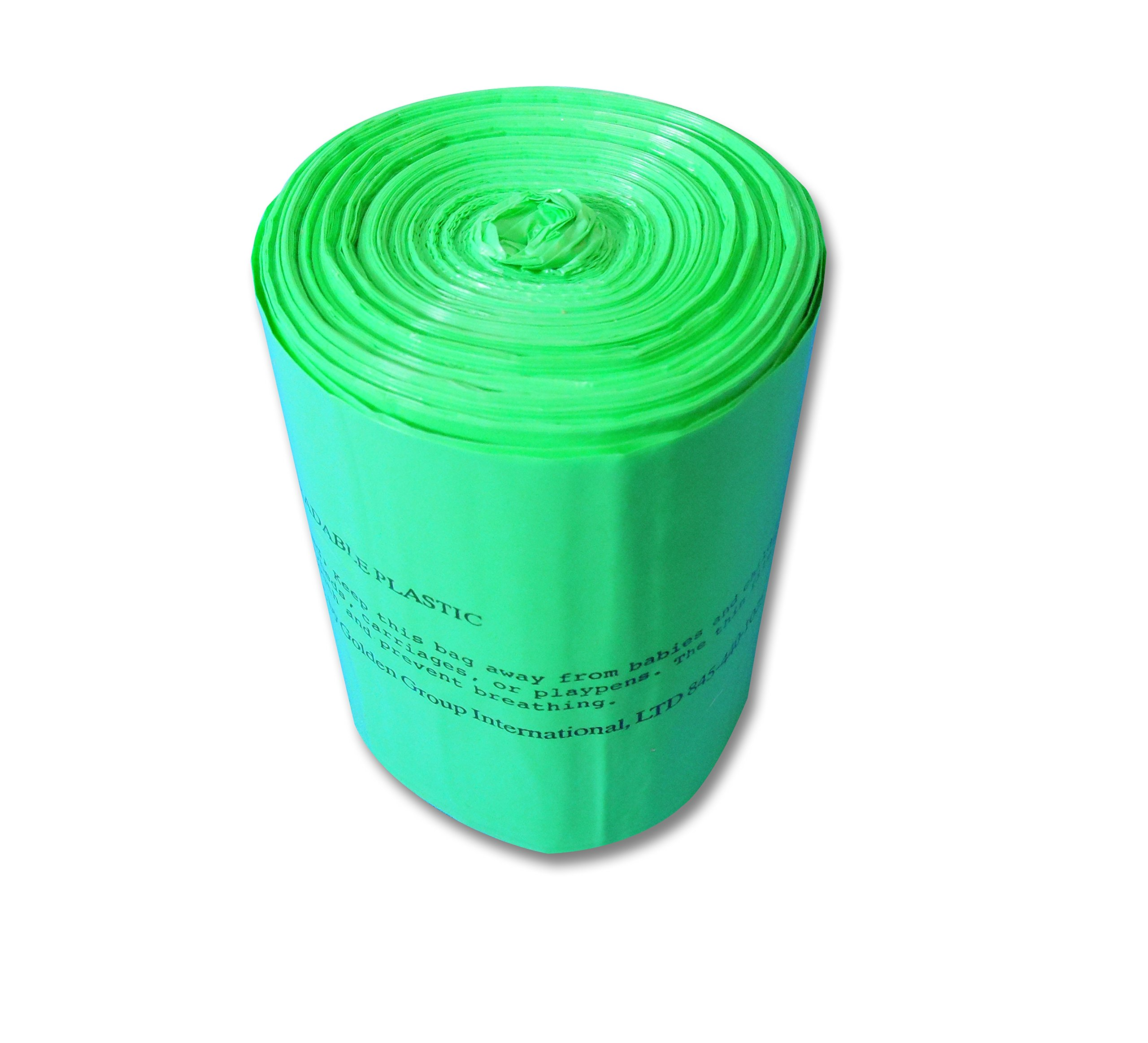 S.A.C. TD9024-24 Sanitary Napkin Receptacle Liner, Plastic, 5 gal Capacity, Green (Pack of 24)