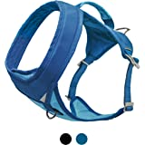 Kurgo Running Harness for Dogs | Everyday Dog Hiking Harness | Reflective Pet Walking Harness | Includes Dog Seatbelt Tether
