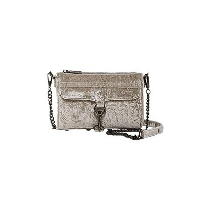 cd24a76f50 Amazon.com  Rebecca Minkoff Velvet Mini Mac Cross Body Bag (Putty ...
