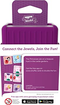 +App Shuffle Card Game Double Domino Disney Princess