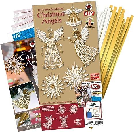 Karen Maries Christmas Mandala Quilling Template