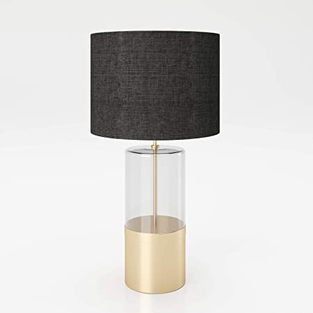 PLAYBOY 354201GO - Lámpara de Mesa con Base de Cristal: Amazon.es ...
