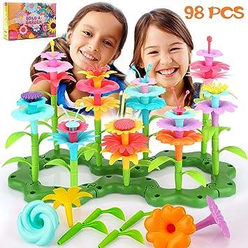 SAVITA 98 Piezas Regalos Niña Jardín de Flores Juguetes para ...
