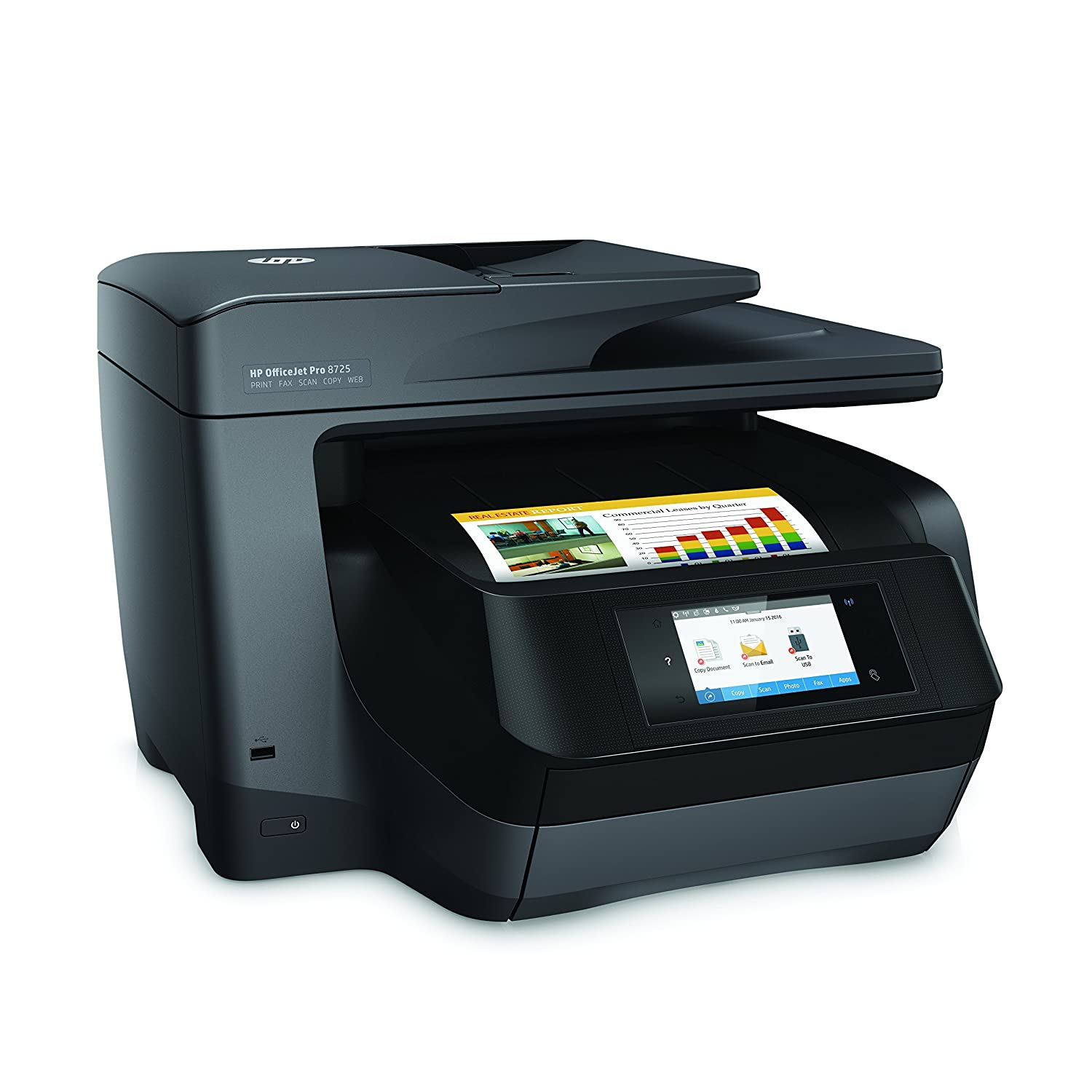 HP OfficeJet Pro 8725 All-in-One Printer - Instant Ink