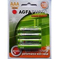 AGFA AAA oplaadbare batterijen (400 mAh)