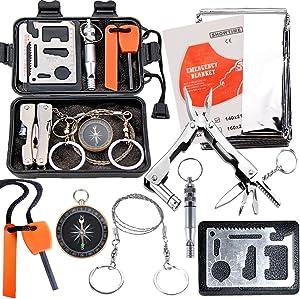 Outdoor Emergency Gear Kit