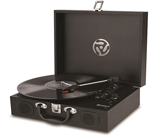 Numark PT01 Touring | Classically-Styled Suitcase Turntable