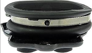 APDTY 022121 Throttle Body To Intake Manifold Plenum Coupling Rubber Boot Hose Fits 4.6L Northstar 2000-2005 Cadillac Deville Seville or Eldorado Bonneville GXP Olds Aurora 4.0L (Replaces 12555840)
